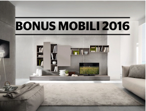 Soave arredamenti torino for Bonus mobili 2016