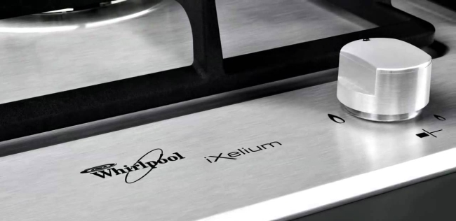 IXELIUM: IL PIANO COTTURA ANTIGRAFFIO DI WHIRLPOOL. - Soave ...